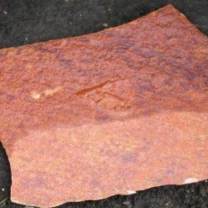 Плитняк-рваный «красный-переходной»