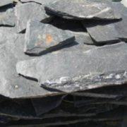Cланец глинистый рваный «черно-зеленый»